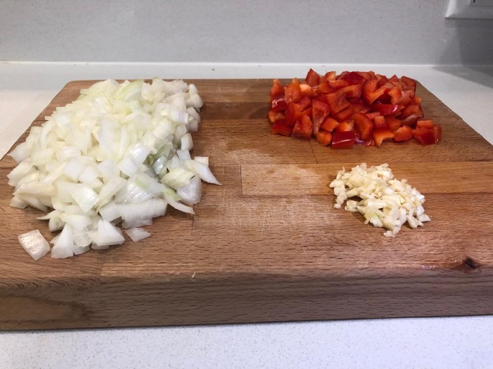 Some of the veggies