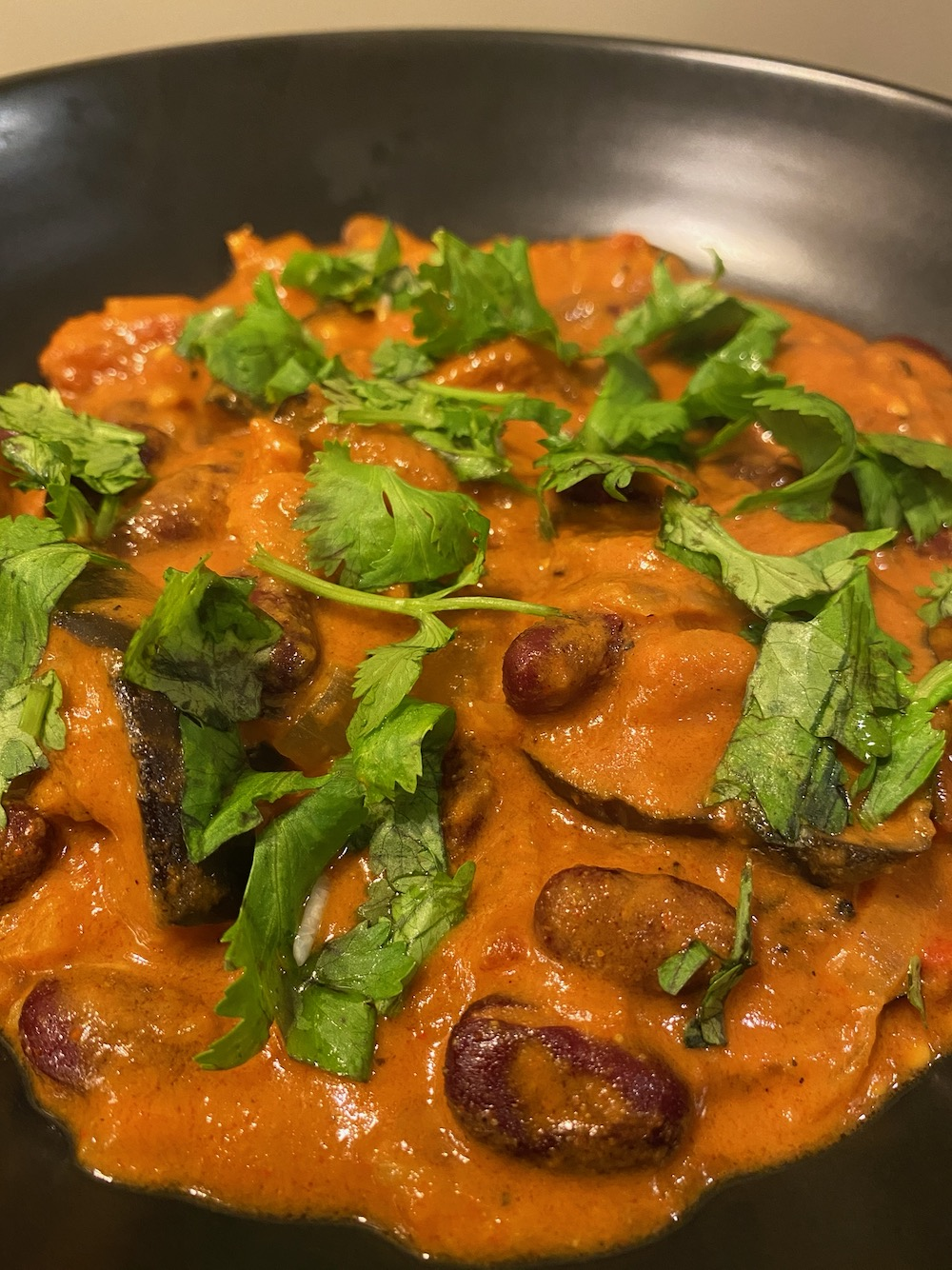 Vegan Holiday Recipes: Indian Eggplant Curry