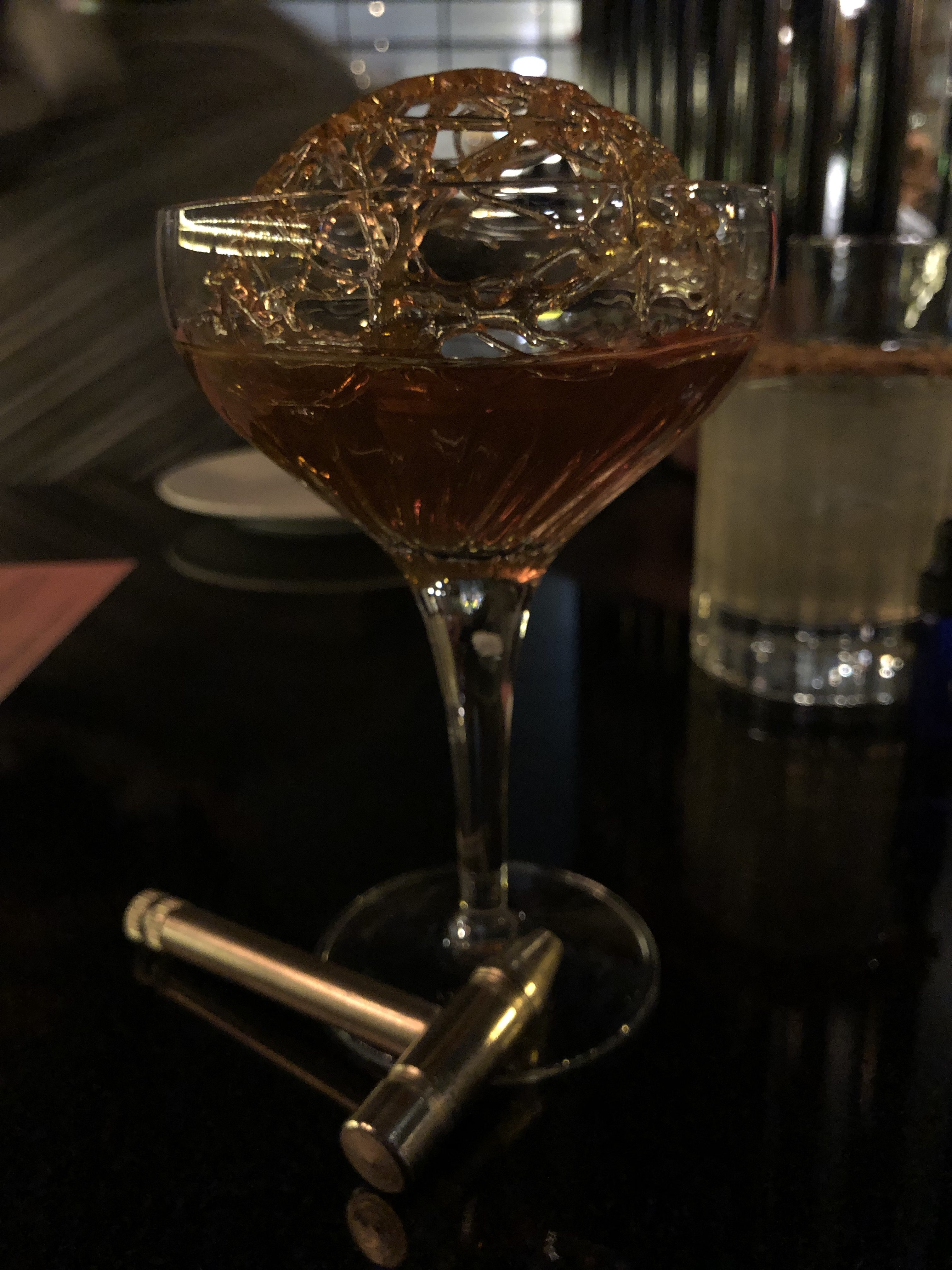Ice Sage Cocktail at Machine