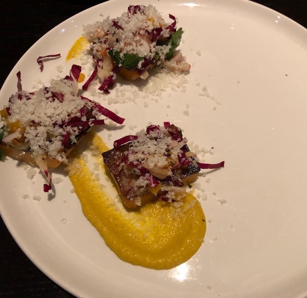Squash Pesto Cakes