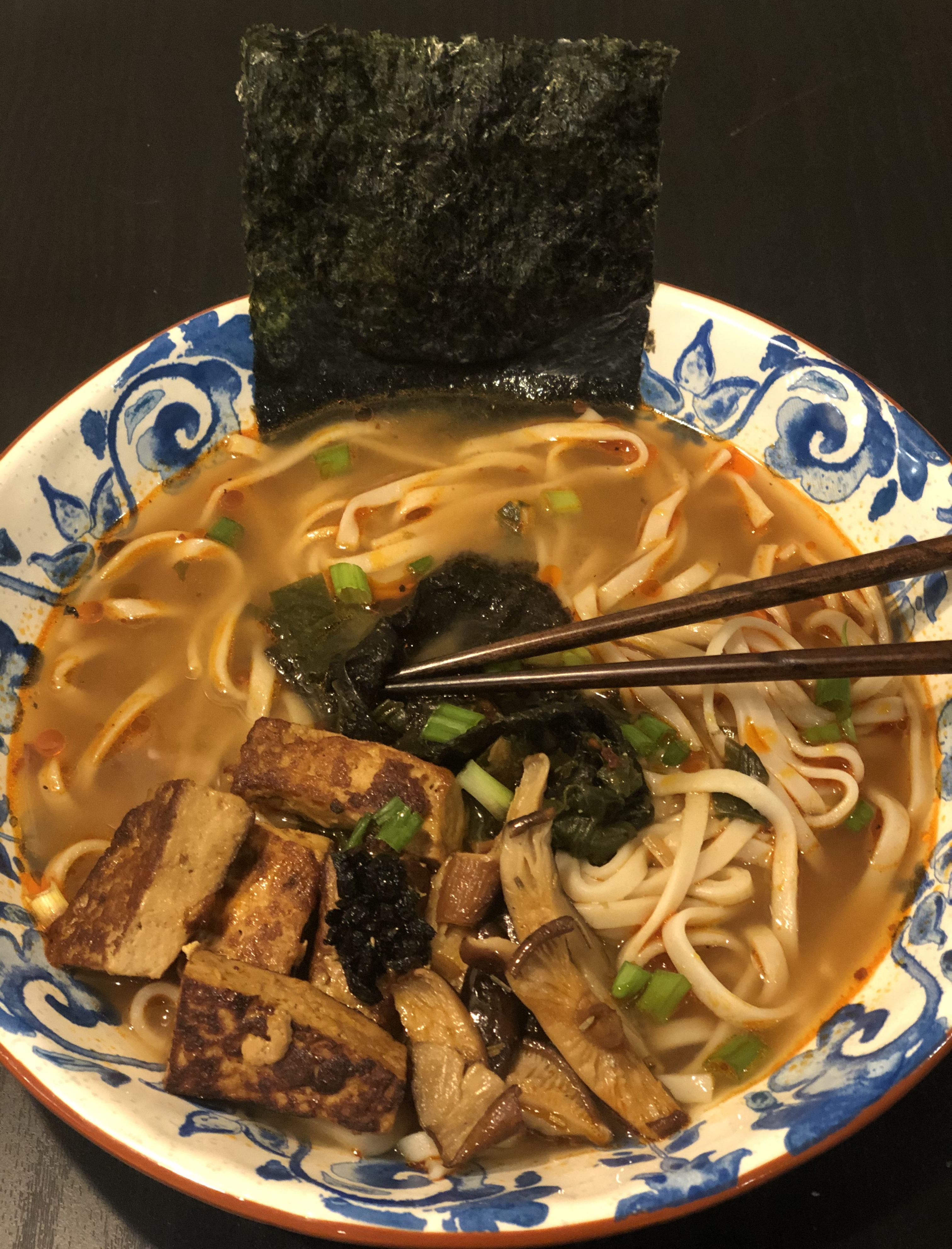 Miso Udon Soup is ready!