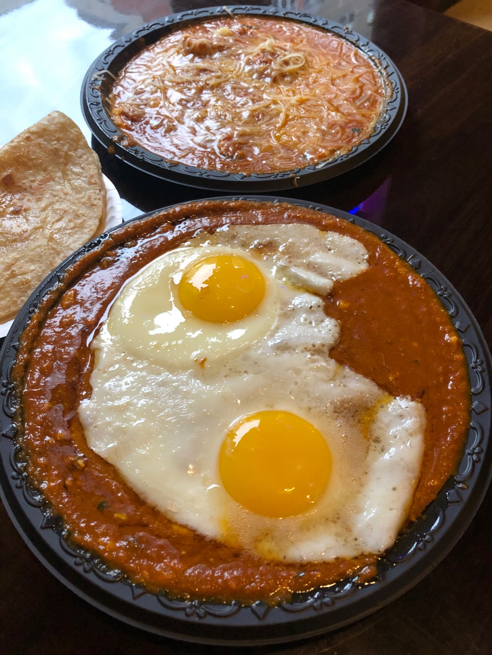Famous egg curry at Eggoholic