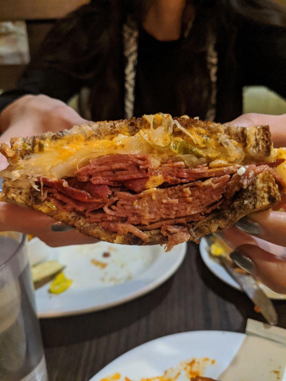 Chicago Diner's Radical Reuben
