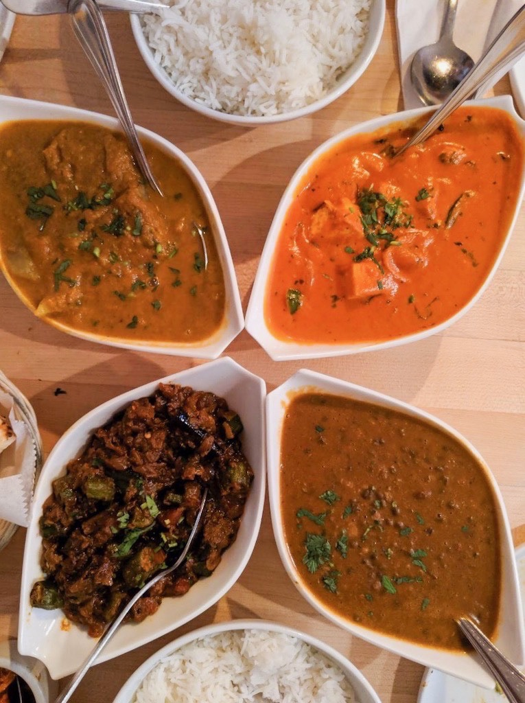 A vegetarian feast at Spice Room