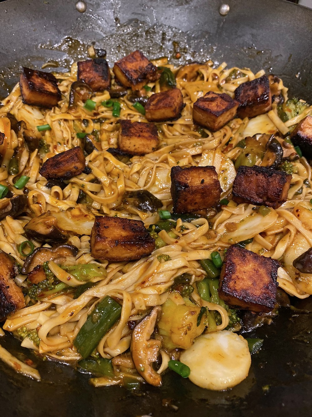 Don't forget to add that tofu!