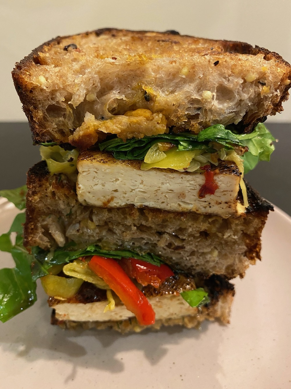 Balsamic Tofu Sandwich Recipe